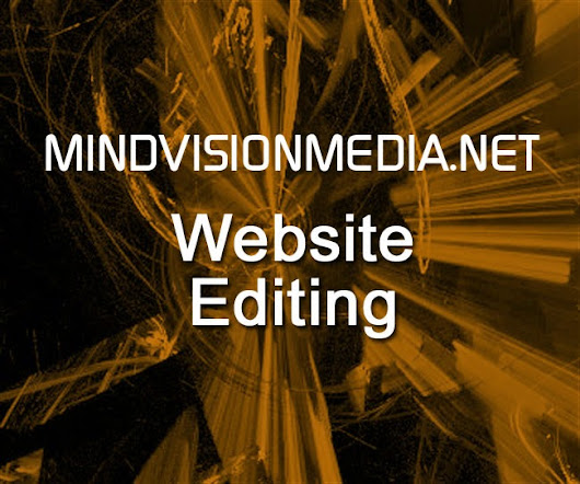 MVM Website Editing