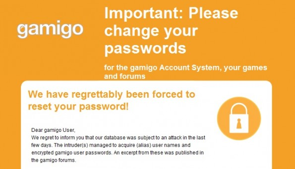 8 million passwords dumped from gaming website Gamigo