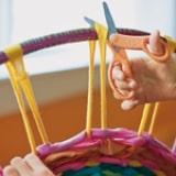Hula Hoop Rug step 11