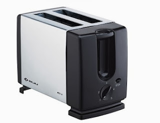 Bajaj Auto Pop Metallic Toaster Atx 3 worth Rs.1249 for Rs.849 Only