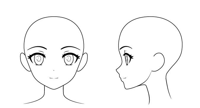 wajah anime