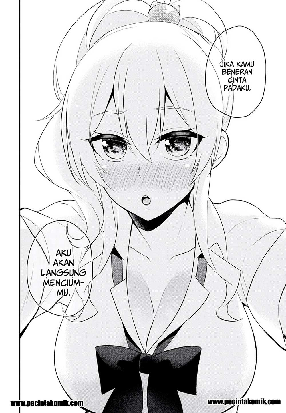 Komik Hajimete No Gal Chapter 26 Bahasa Indonesia