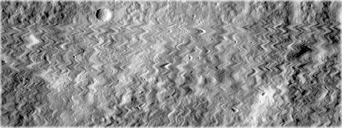 sonda na Lua é atingida por detrito espacial
