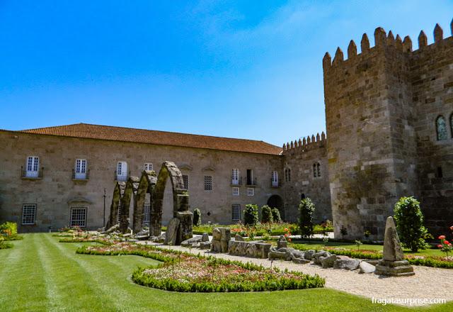 Jardins de Santa Bárbara e Paço Arquiepiscopal, Braga, Portugal