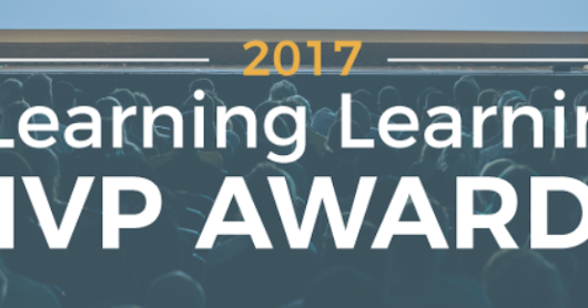 2017 eLearning Learning MVP Awards - Call for Nominations