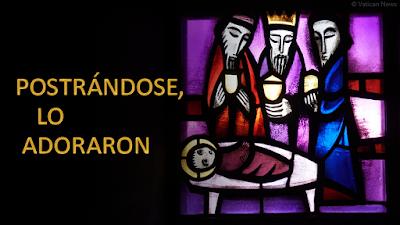 Evangelio según san Mateo (2, 1-12): Postrándose, lo adoraron