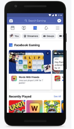 While giving information about this gaming tab in its blog post, Facebook wrote that right now the Facebook Gaming tab has been rolled out for everyone.