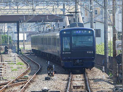 相模鉄道 快速 大和行き5 9000系NB