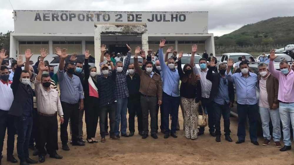 MINISTRO JOÃO ROMA VISITA A REGIÃO DE JACOBINA