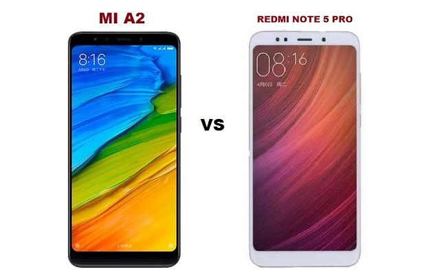 MI A2 vs Redmi note 5 pro which one to buy? comparison see here...