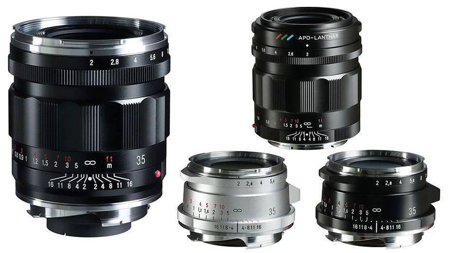 Новые объективы Voigtlander 35mm f/2