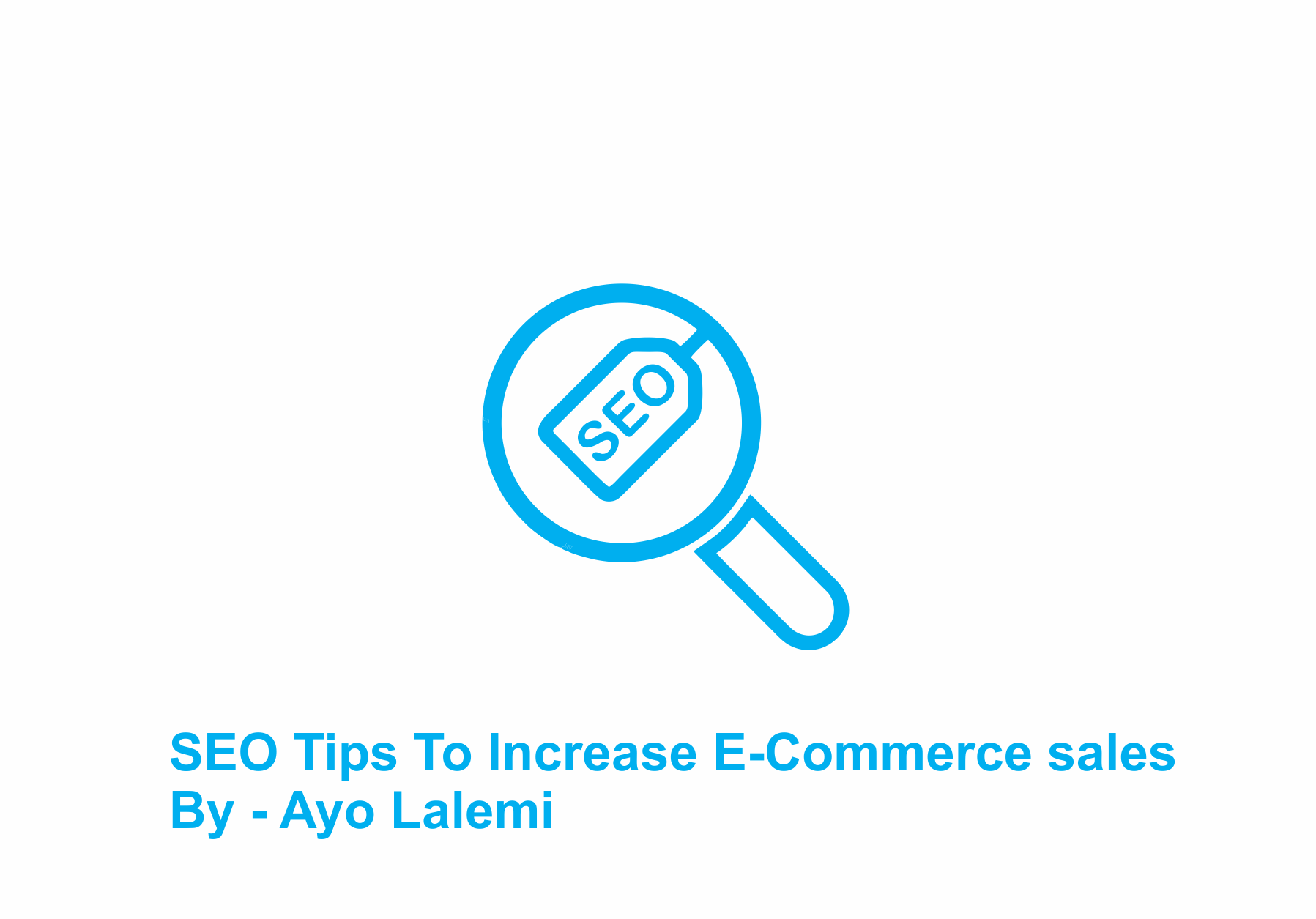 SEO Tips To Increase E-Commerce sales
