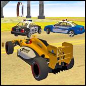 Formula Car Racing - Police Chase Game | gadi wala game