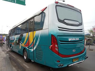 Foto Bus Garuda Mas B 7024UGA Belakang