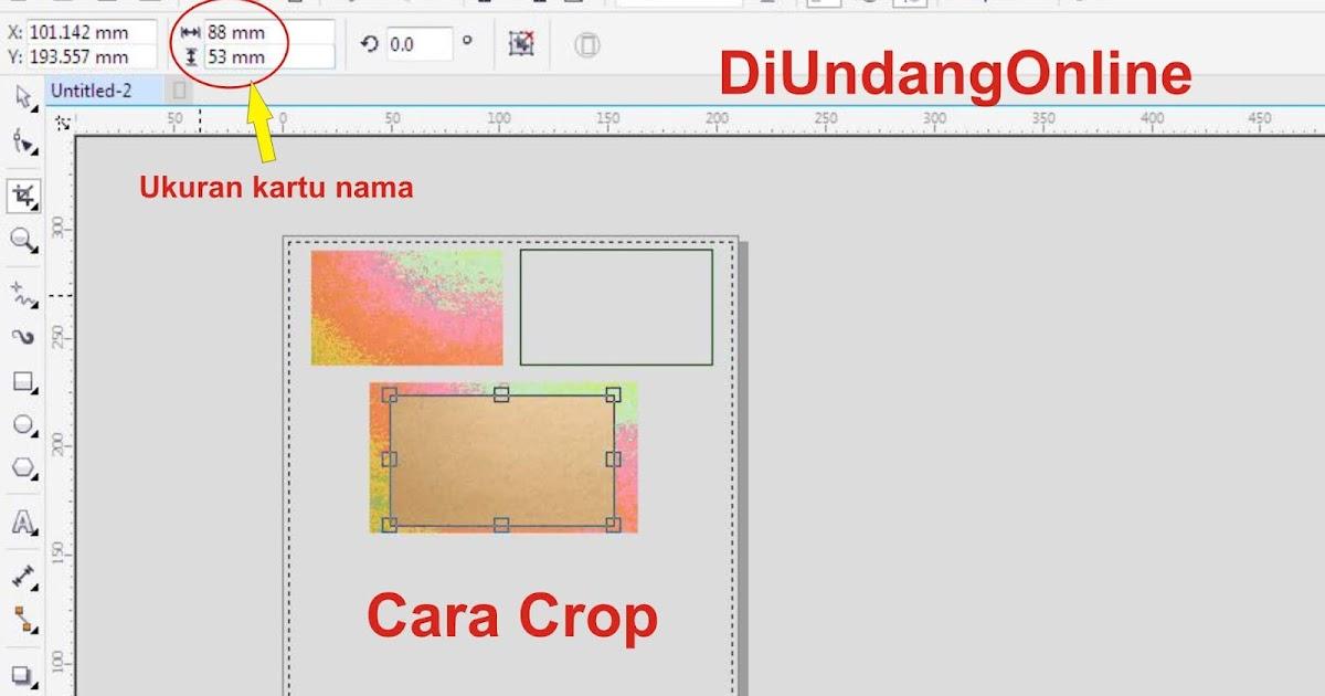 Cara Buat Desain Kartu Nama Di CorelDraw X7