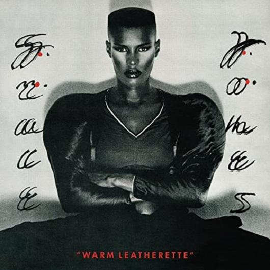 Album cover for GRACE JONES - Warm Leatherette (1980, Island Records)