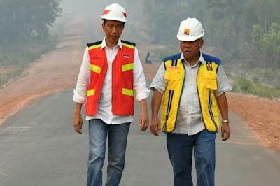 Presiden Ingatkan Menteri PUPR : Jangan Cuma Bangun Jalan Tol