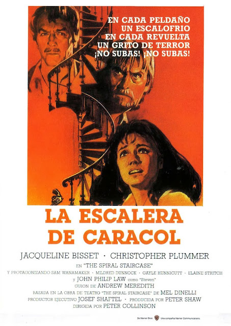 THE SPIRAL STAIRCASE (1975) LA ESCALERA DE CARACOL - Audio ...