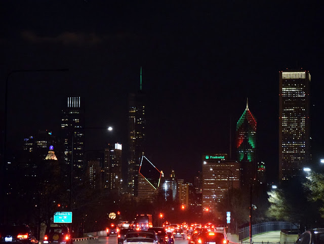 Chicago holiday lights
