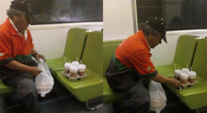 Exponen abuso contra trabajador de limpieza del Metro de la CDMX