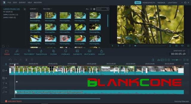 aplikasi edit video youtuber filmora