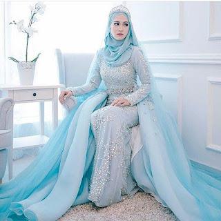 Gaun Pengantin Kebaya Muslimah