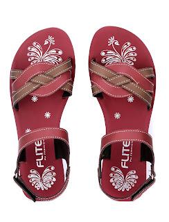 Flite sandals in Maroon