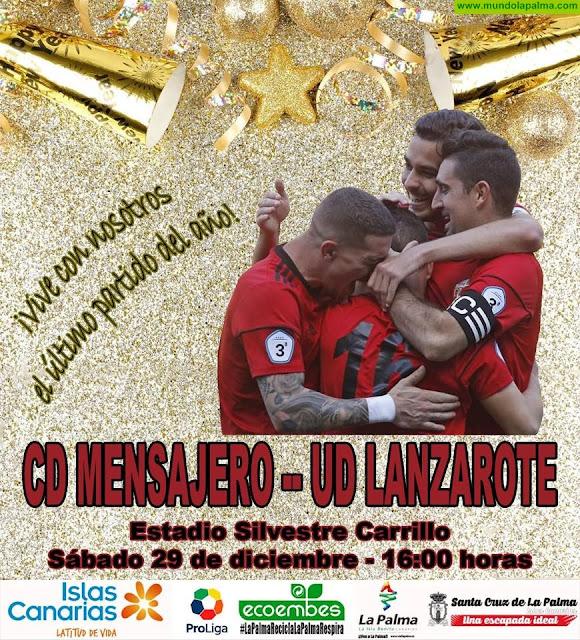 CD Mensajero Vs UD Lanzarote