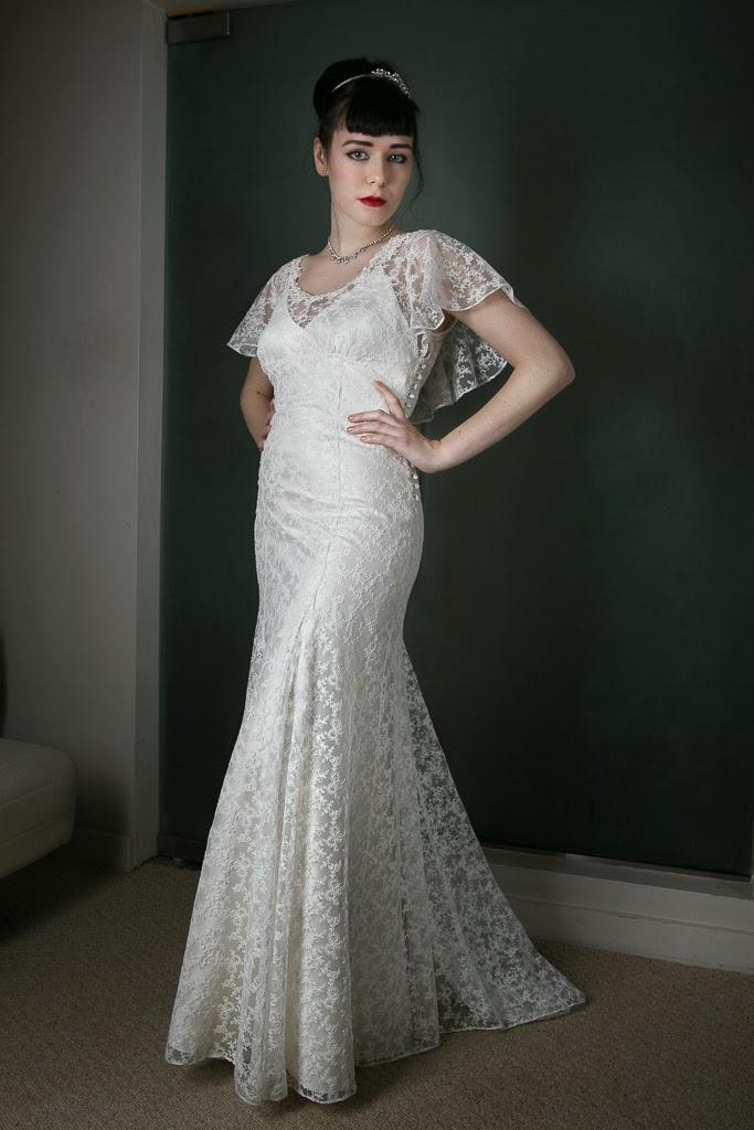 1930s Vintage Style Wedding Dress Angel So