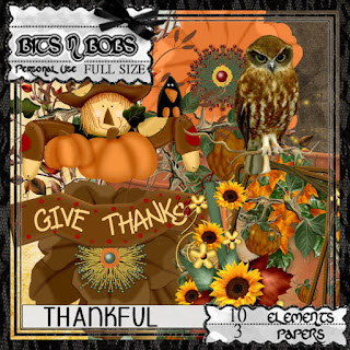 Thankful blog train freebie