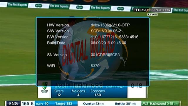 NEOSAT DISH RECEIVER 1506G SCB1 V9.08.05 NEW SOFTWARE