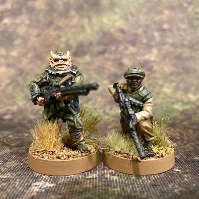 Star Wars Legion Rebel Pathfinders Bistan