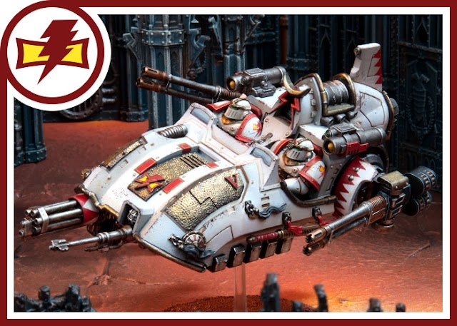 White Scars Reinforcements: Kyzagan Assault Speeder