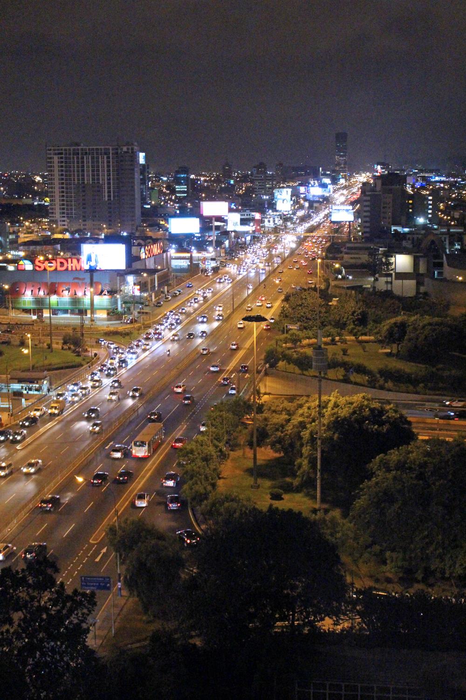 The Westin at night Lima, Peru - luxury travel blog