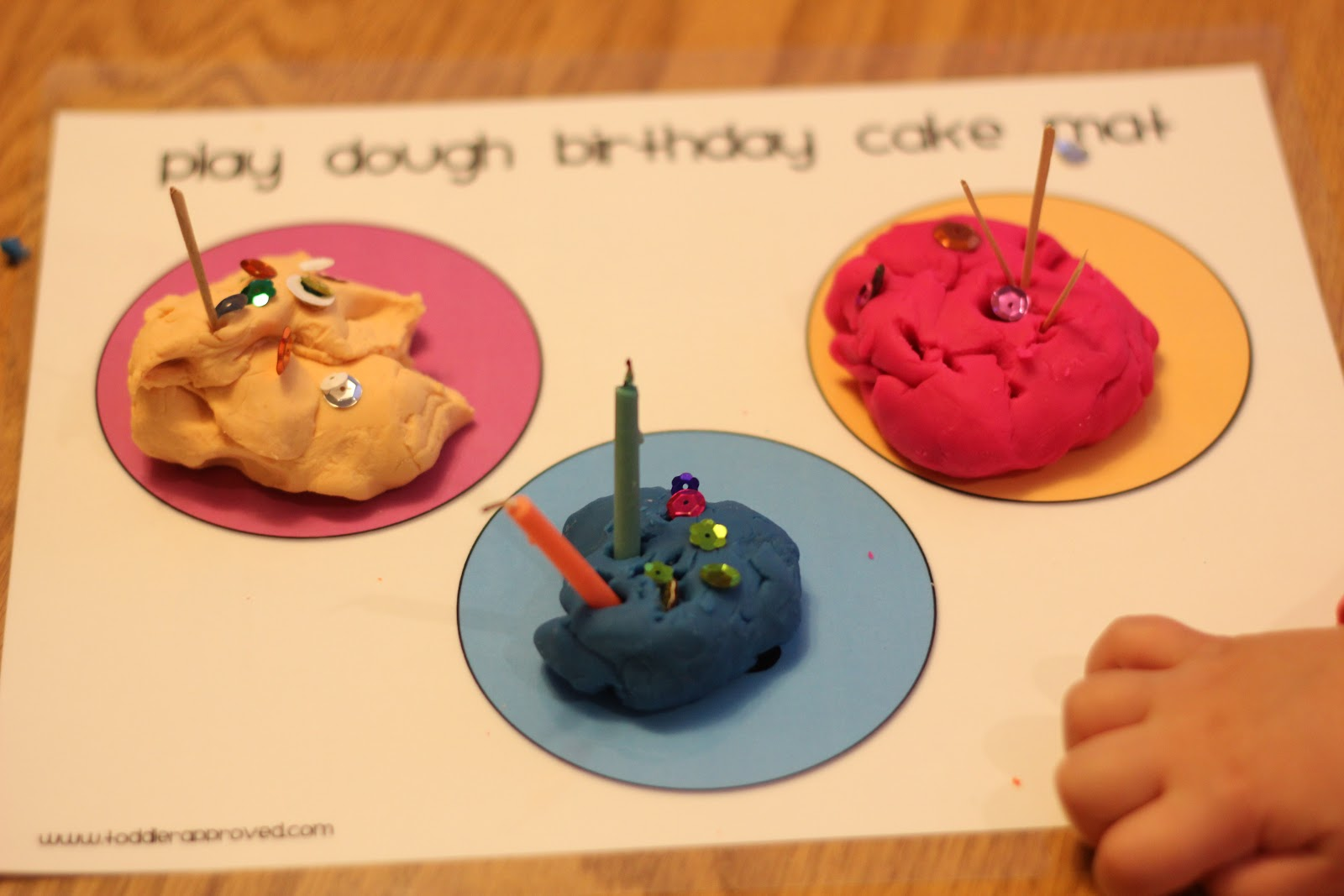 Toddler Approved Birthday Cake Crafts Activities