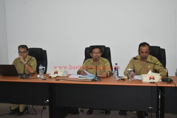 Pemkab Gumas Gelar Rapat Evaluasi dan Revisi Rencana Aksi Pencegahan Korupsi