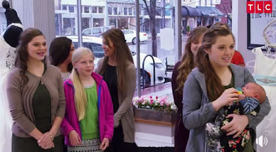Duggar wedding dress shopping