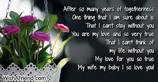 romantic words for my wife