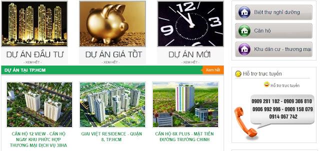 Templates blogspot bất động sản Hưng Thịnh Land