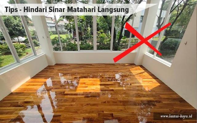 cara merawat dan membersihkan lantai kayu solid