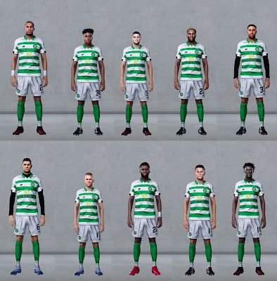 PES 2020 Celtic Mega Facepack by Ultra1312