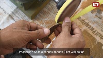 Tutorial Membuat SENDOK MAKAN dari Tempurung Kelapa dan Sikat Gigi Bekas