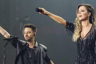 Sandy e Junior anunciam DVD da turnê 'Nossa História' com shows gravados em São Paulo