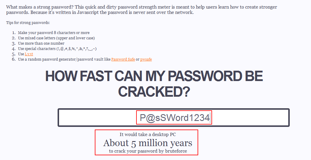 How Fast Can Your Password Be Cracked? Instantly