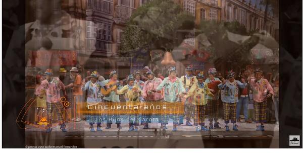 """Pasodoble con LETRA """"Cincuenta años"""". Chirigota """"Los hijos del Carota"""" (2020)"""