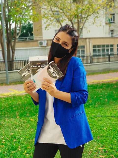 antimikrobiyal maske