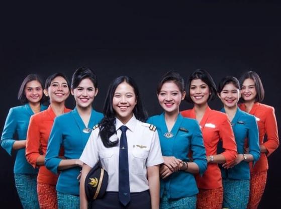 Syarat untuk Menjadi Pramugari Garuda Indonesia