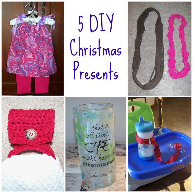 5 DIY Christmas Presents | scriptureand.blogspot.com