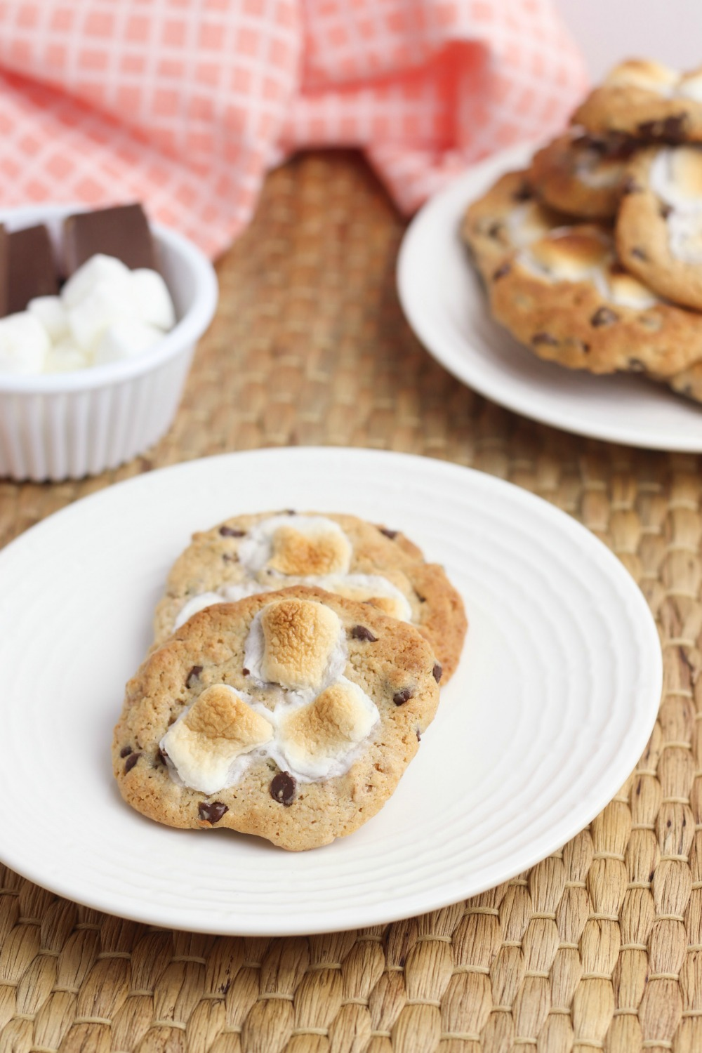 cookie recipe for s'mores cookies