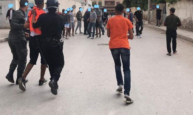 أكادير: شغب واعتقالات وإصابة شرطي ولاعب بسكين في مباراة في كرة القدم ضواحي أكادير